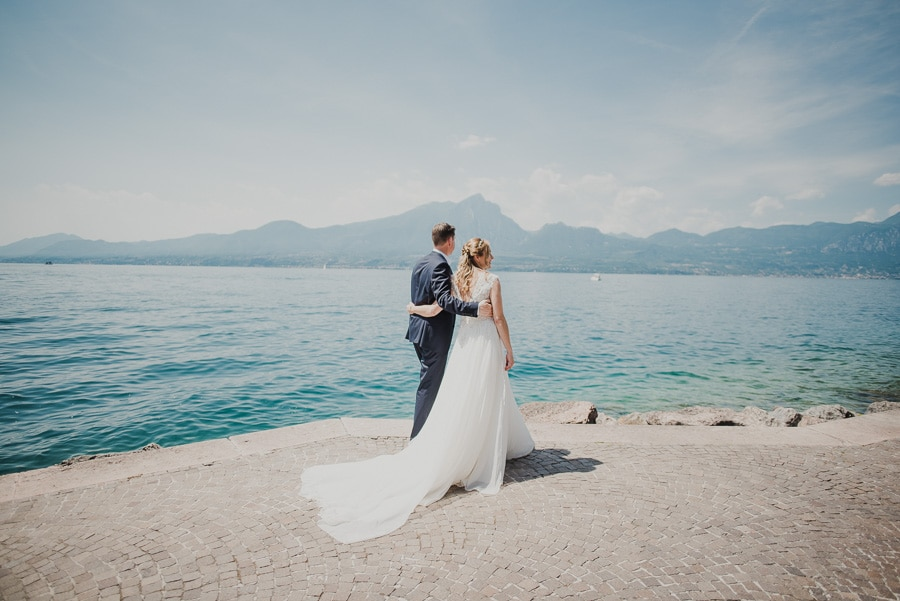 Wedding in Garda lake