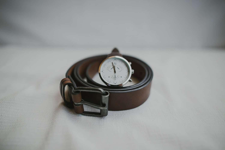 L'orologio è un dettaglio che lo sposo non può mancare per il suo matrimonio a Verona.