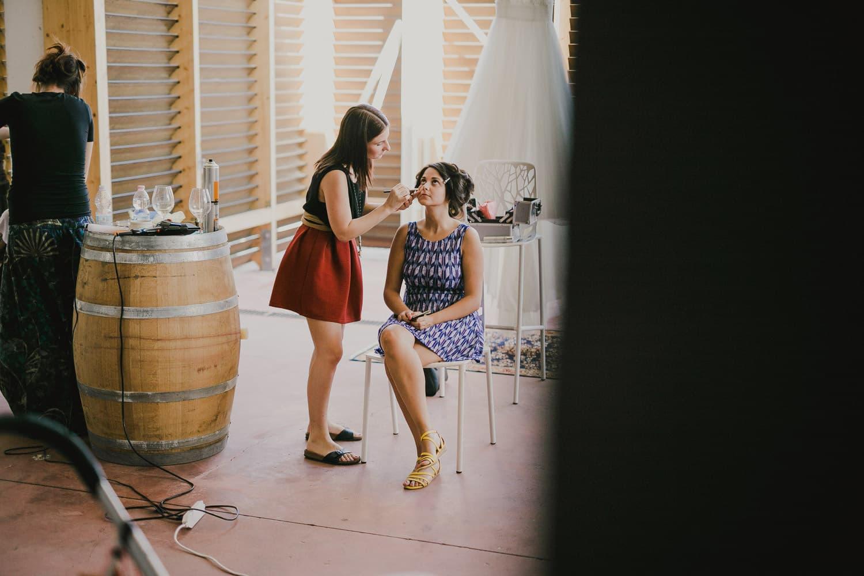 I preparativi si possono fare direttamente nella location che si è scelto per sposarsi.