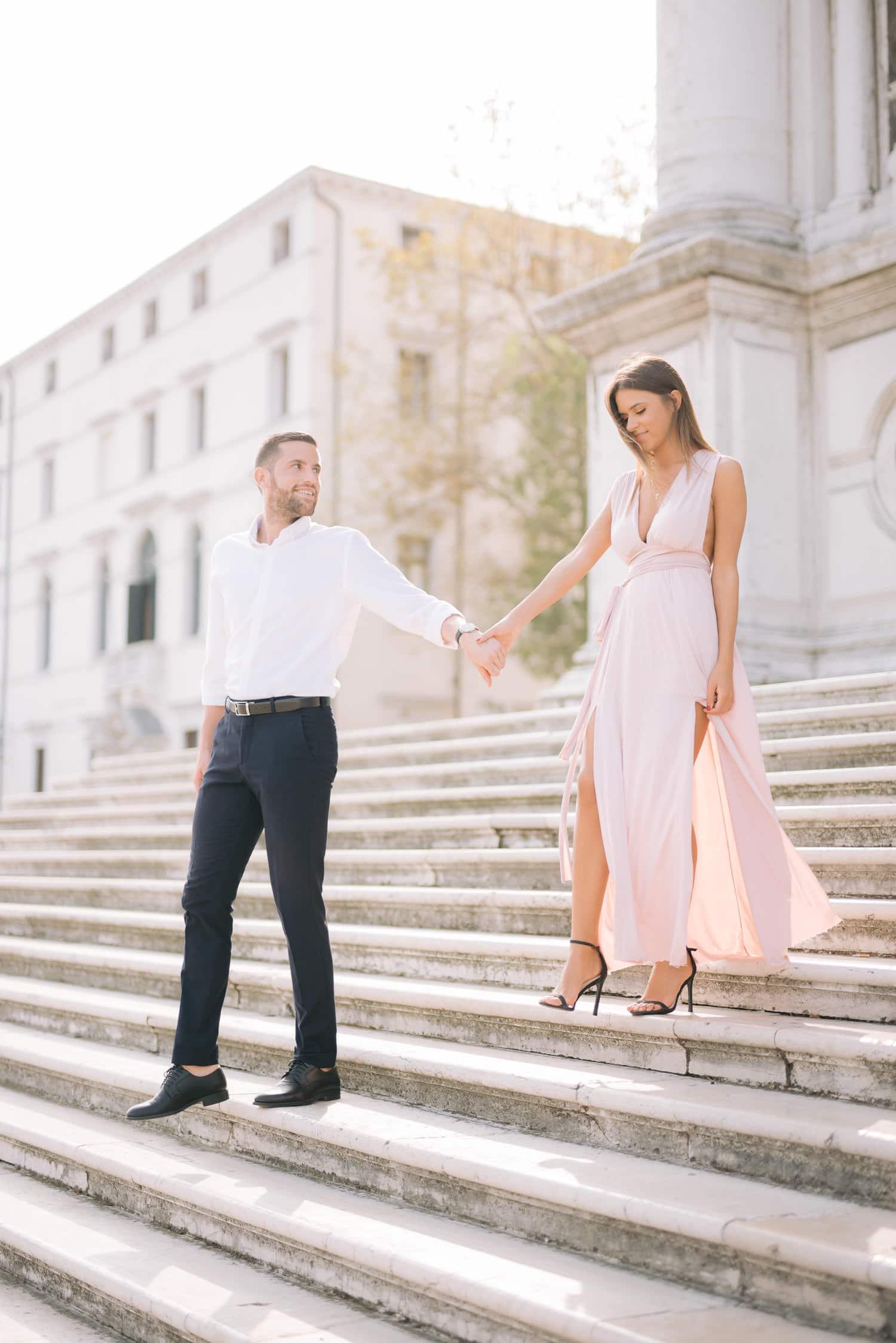 engagement photo shoot venice