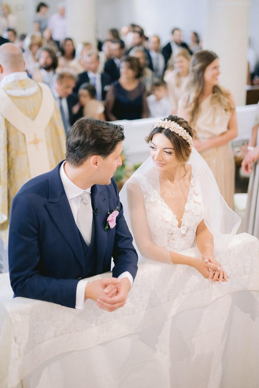cerimonia matrimonio sposi