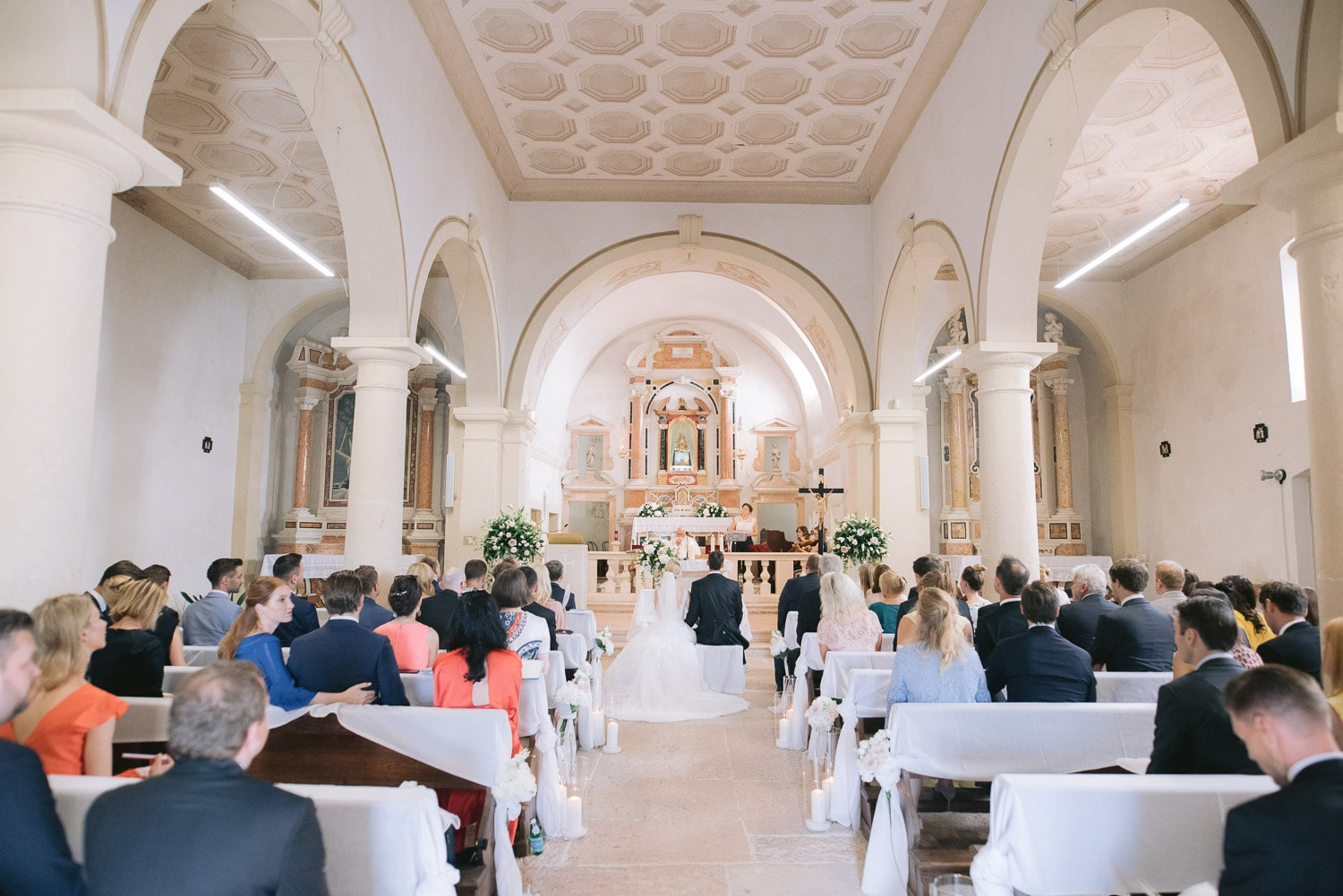 santa maria in valverde church wedding