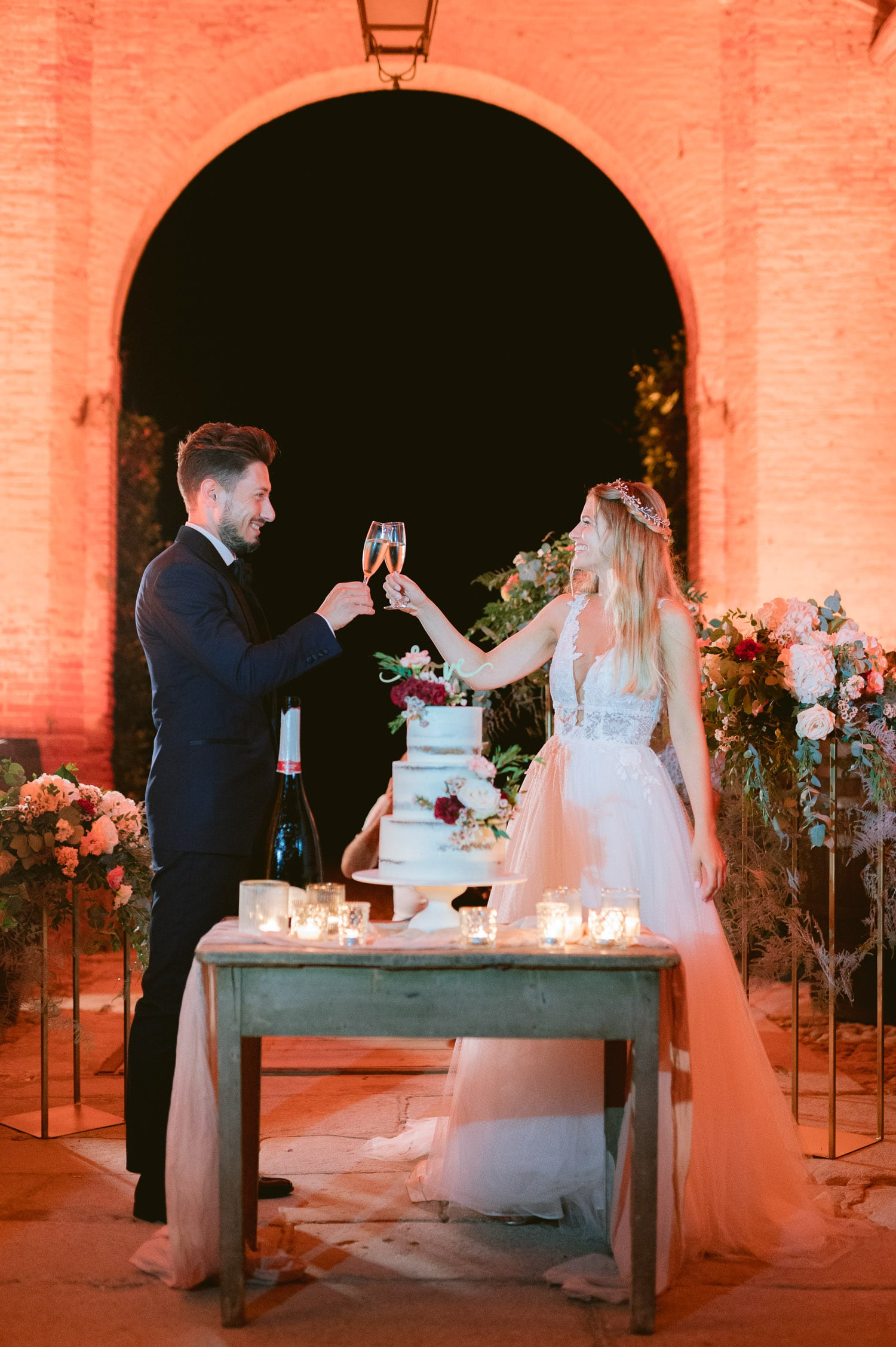 wedding cake three layers