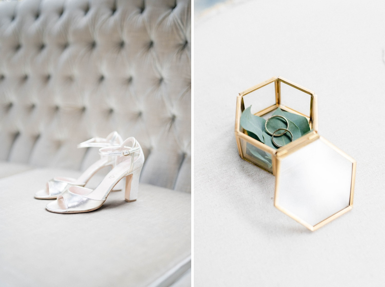 scarpe sposa anelli matrimonio